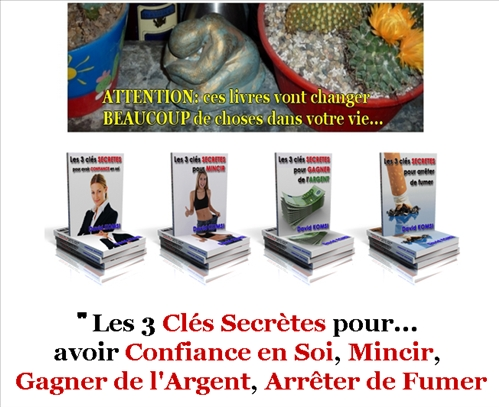 Le Pack 3Cles-Secretes