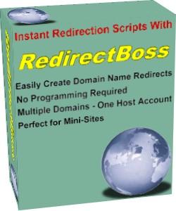RedirectBoss - outil logiciel avec des droites de revente